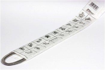 Dampfmschinen-Zubehör:Antriebsspiralen Z 825260 mm lang, ∅ 2,5 mm(Wilesco)