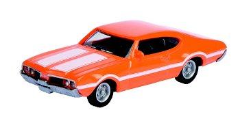 Modellauto:Oldsmobile 442 Coupé, orange(Schuco, 1:87)