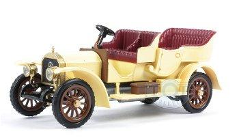 Modellauto:Mercedes Simplex 36/65 von 1909, dunkelbeige(RIO, 1:43)