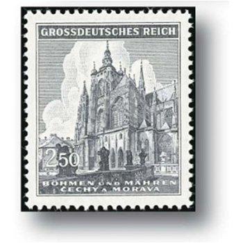 600 Jahre St.-Veits-Dom, 2 Briefmarken postfrisch, Katalog-Nr. 140 - 141, Böhmen und Mähren
