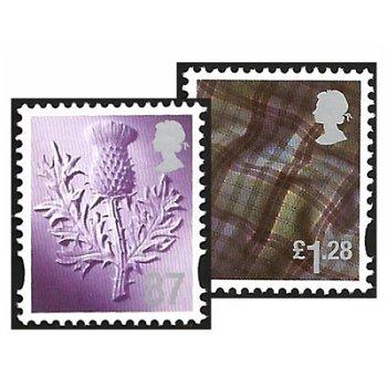 Landeswahrzeichen - Regionalmarken, Katalog-Nr. 113-114, GB - Schottland