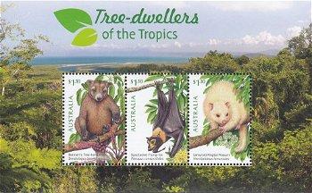 Baumbewohner - Briefmarkenblock postfrisch, Australien