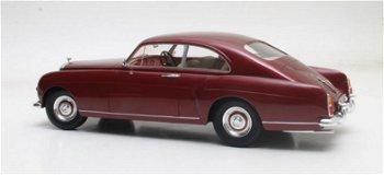 Modellauto:Bentley S1 Continental Fastback Mulliner von 1955, maroon(Cult Scale Models, 1:18)