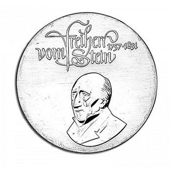 150. Todestag Freiherr vom und zum Stein, 20 Mark Münze 1981, DDR