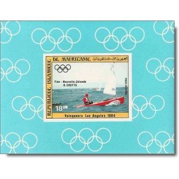 Olympische Sommerspiele, Los Angeles - 4 Luxusblocks postfrisch, Katalog-Nr. 836-839, Mauretanien