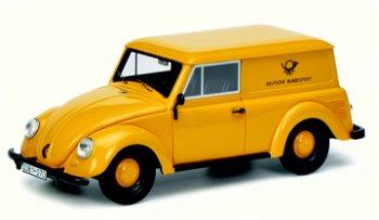 Modellauto:VW Kleinlieferwagen- Deutsche Bundespost -, gelb(Schuco/PRO.R43, 1:43)