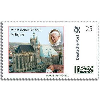 Papst Benedikt XVI. in Erfurt - Marke Individuell postfrisch