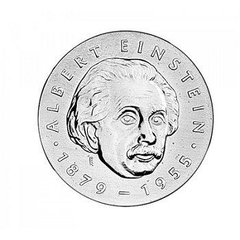 """5-Mark-Münze 1979 """"100. Geburtstag Albert Einstein"""", DDR"""