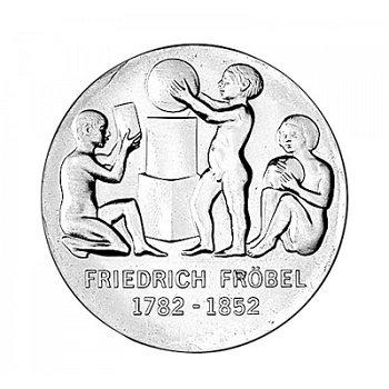 "5-Mark-Münze 1982 ""200. Geburtstag Friedrich Fröbel"", DDR"