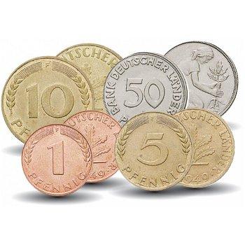 Das erste Geld der Bundesrepublik, Kleinmünzsatz, Deutschland