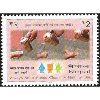 Gesundheit – Briefmarke postfrisch, Katalog-Nr. 1010, Nepal
