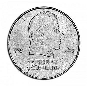 """20-Mark-Münze 1972 """"Friedrich von Schiller"""", DDR"""