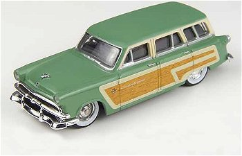 Modellauto:Ford Country Squire Wagon von 1953(Classic Metal Works, 1:87)