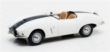 Modellauto:Arnolt Bristol Bolide von 1955, weiß(Matrix, 1:43)