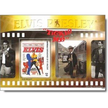 """Elvis Presley """"Tickle Me"""" - Briefmarken-Block postfrisch, St. Vincent und Grenadinen"""