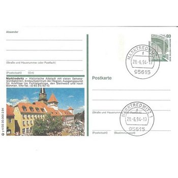 8590 Marktredwitz - Bildpostkarte