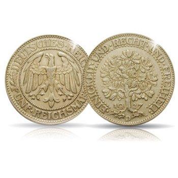 5 Reichsmark, Eichbaum, Jaeger-Nr. 331, Weimarer Republik