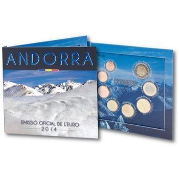 Euro-Kursmünzensatz 2014, Andorra
