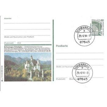 """8959 Schwangau/Ostallgäu - Bildpostkarte """"Neuschwanstein"""""""
