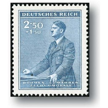 Der 53. Geburtstag - 4 Briefmarken postfrisch, Katalog-Nr. 85 - 88, Böhmen und Mähren
