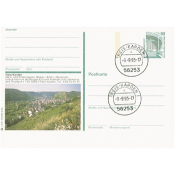 5402 Treis- Karden - Bildpostkarte