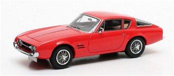 Modellauto:Ghia 230 S Coupé von 1963, rot(Matrix, 1:43)