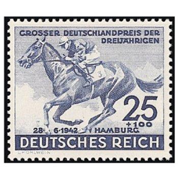 """Rennen um """"Das Blaue Band"""" 1942 - Briefmarke, Katalog-Nr. 814, postfrisch, Deutsches Reich"""