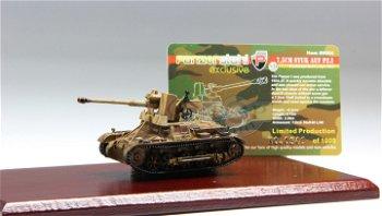 Militaria-Modell:Panzer I Ausführung B mit 7,5 cm StuK 40L/48 - Endkampf Berlin April 1945 -II. Wahl