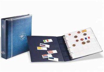 Münzalbum NUMIS für Euro-Münzen, oh. Schutzkassette, Leuchtturm 329334