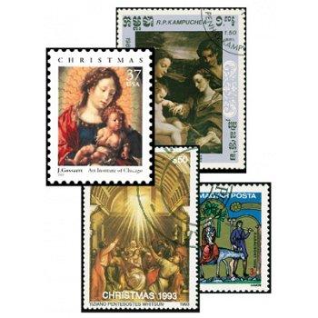 Religion - 50 verschiedene Briefmarken