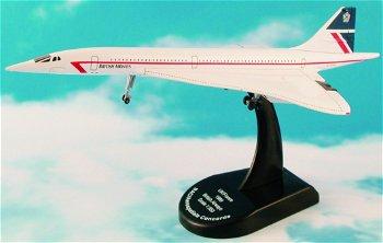 Modell-Flugzeug:Concorde - British Airways - von 1969(Model Power, 1:350)