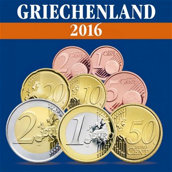 Griechenland – Kursmünzensatz 2016