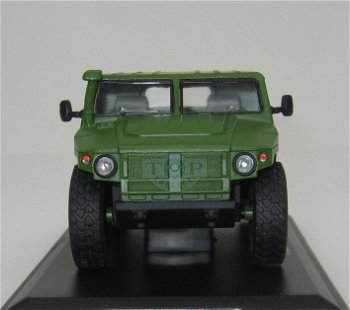 Militaria-Modell:GAZ 233002 - Tigr - Pick Up, grün(Start Scale Models, 1:43)
