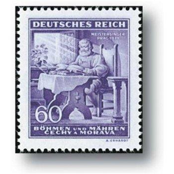 Richard Wagner - 3 Briefmarken postfrisch, Katalog-Nr. 128 - 130, Böhmen und Mähren