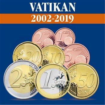 Vatikan - Kursmünzensätze alle Jahrgänge 2002-2019