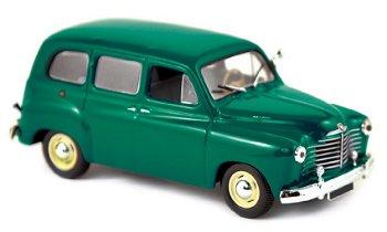 Modellauto:Renault Colorale von 1952, dunkelgrün(Norev, 1:43)
