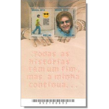 Dorina-Norwill-Stiftung für Blinde - Briefmarkenblock, Brasilien
