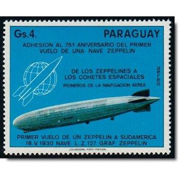 Zeppelin-Luftschiff, Emblem der Hermann-Oberth-Gesellschaft - Briefmarke postfrisch, Katalog-Nr. 271