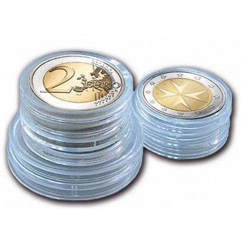 Münzkapsel-Set (50 Kapseln) für 2 Euro Münzen, Safe 6726 XL