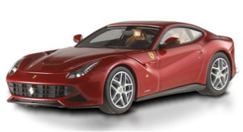 Modellauto:Ferrari F 12 Berlinetta, rot(Hot Wheels Elite, 1:43)