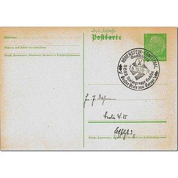 """9270 Hohenstein-Ernstthal - Ganzsache """"Motorgruppe Sachsen - Großer Preis von Europa"""""""