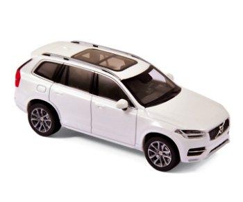 Modellauto:Volvo XC 90 von 2015, weiß-metallic(Norev, 1:43)